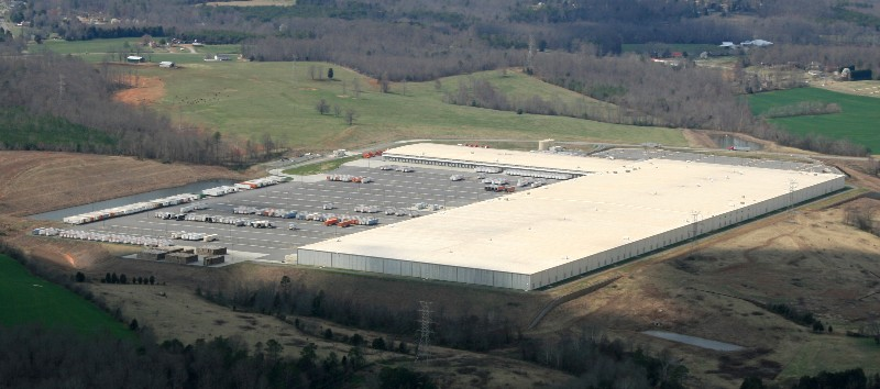 The Catawba EDC worked closely with Target on their 1.6 million s.f. distribution center in Newton.