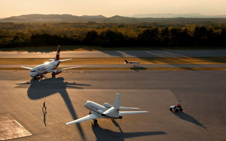 The Hickory Regional Airport, a general aviation airport, is the aviation leader in Western North Carolina.