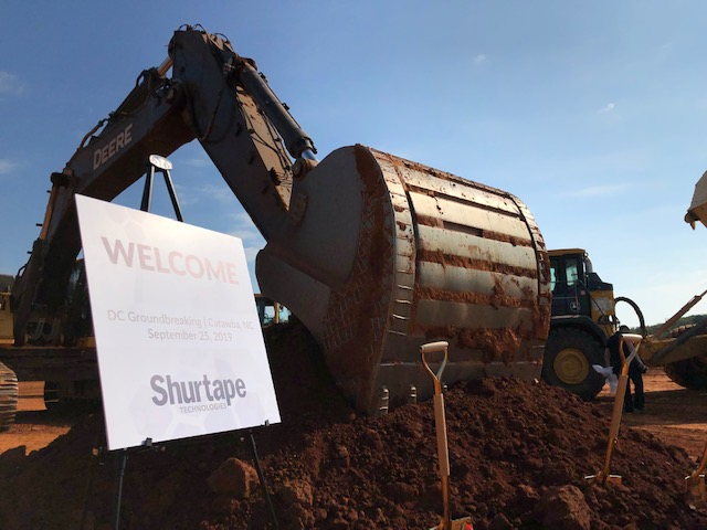 Shurtape breaks ground on $31 million distribution center